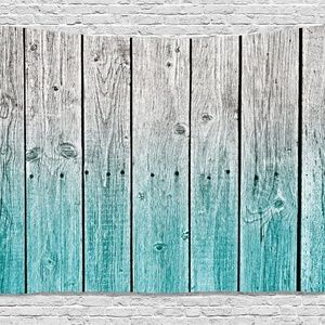 Tapestry Faded Wood Planks Wall Hanging Backdrop
